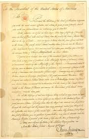 Moses Seixas letter to George Washington